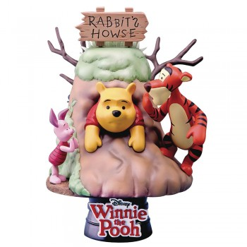 Disney Diorama D-Select Series Exclusive 6-Inch Statue - Winnie The Pooh (DS-006)