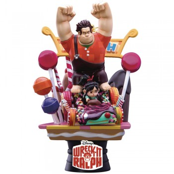 Disney Diorama D-Select Series Exclusive 6-Inch Statue - Wreck-It Ralph (DS-008)