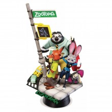 Disney Diorama D-Select Series Exclusive 6-Inch Statue - Zootopia (DS-001)